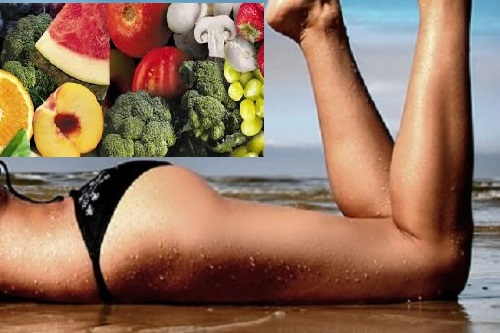 Diet plan to get rid of cellulite
